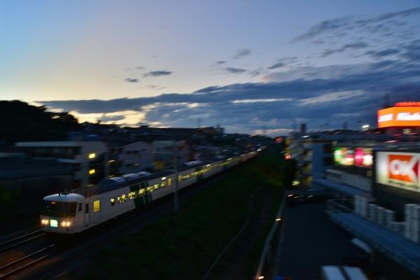 2018年8月25日 JR東日本横浜線 菊名~大口185系B3編成