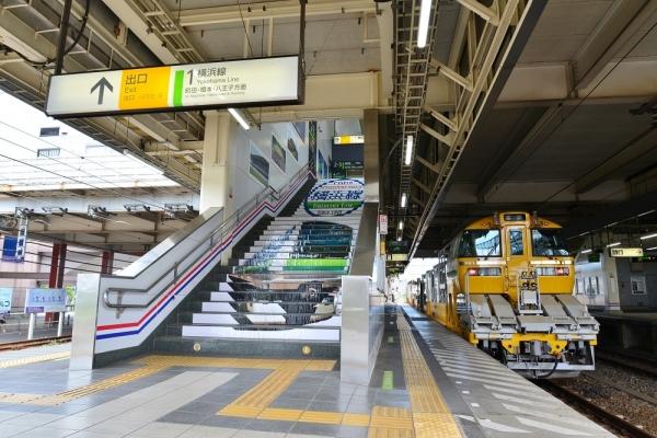 2018年8月30日 JR東日本横浜線 小机 キヤE195系LT-1編成
