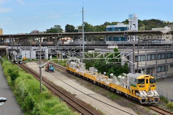 2018年8月30日 JR東日本横浜線 新横浜~小机 キヤE195系LT-1編成