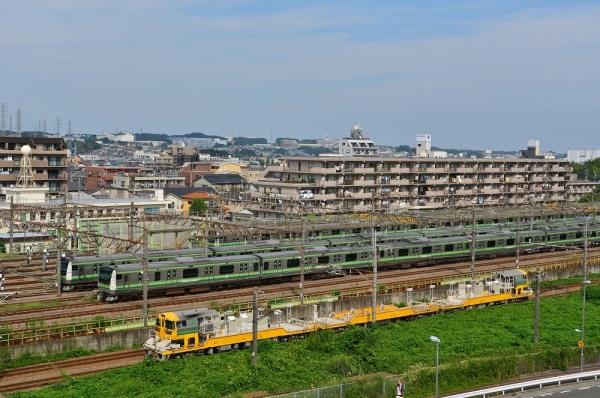 2018年8月30日 JR東日本横浜線 相模原~橋本 E233系H002編成 他/キヤE195系LT-1編成