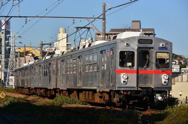 2018年9月28日 東急電鉄池上線 石川台~雪が谷大塚 7700系7906F