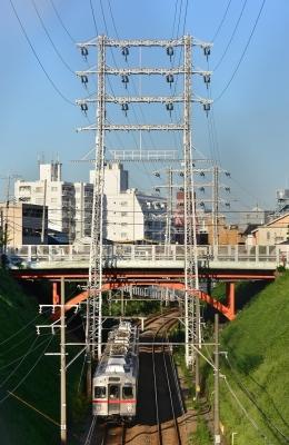 2018年9月28日 東急電鉄池上線 石川台~洗足池 7700系7906F