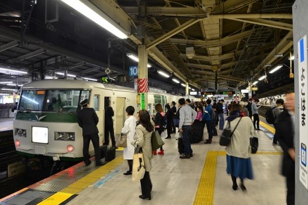 2018年11月4日 JR東日本根岸線 横浜 185系B5編成