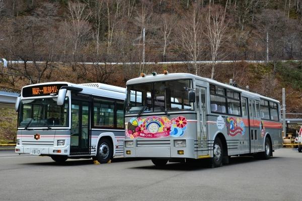 2018年11月20日 関電トンネルトロリーバス 扇沢 電気バス1013号車/300形312