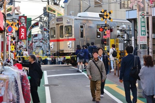 2018年11月21日 東急電鉄池上線 旗の台~荏原中延 7700系7901F