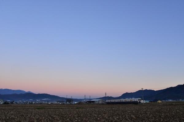 2018年12月13日 上田電鉄別所線 舞田~八木沢 1000系1004編成