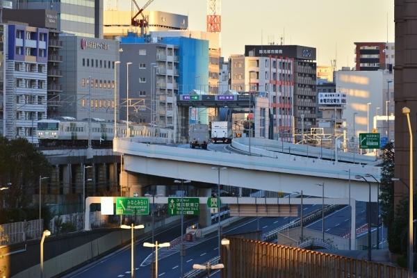 2018年12月30日 JR東日本根岸線 横浜~桜木町 185系B5編成