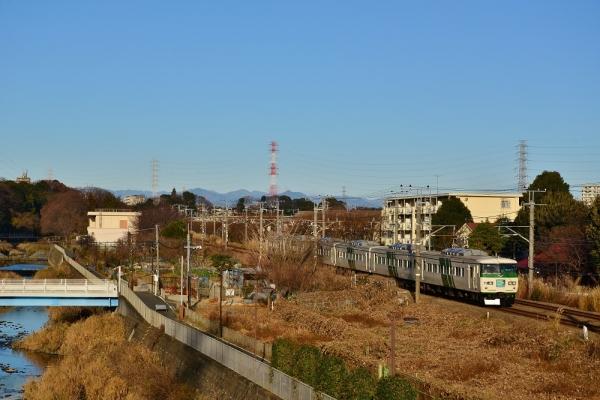 2018年12月30日 JR東日本横浜線 町田~古淵 185系B5編成