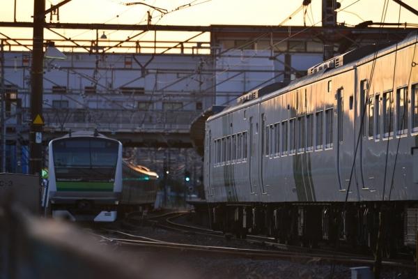 2018年12月31日 JR東日本横浜線 鴨居~小机 185系B5編成