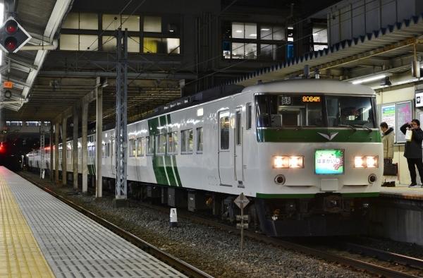 2018年1月2日 JR東日本横浜線 東神奈川 185系B5編成