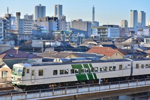 2018年1月3日 JR東日本横浜線 東神奈川~大口 185系B5編成
