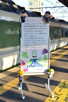 2019年3月15日 JR東日本篠ノ井線 塩尻 189系N102編成