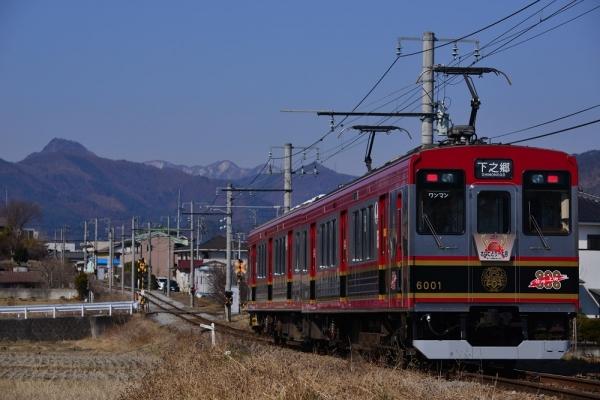 2019年3月15日 上田電鉄別所線 三好町~赤坂上 1000系6001編成
