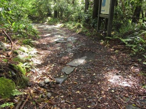 斜めの排水路