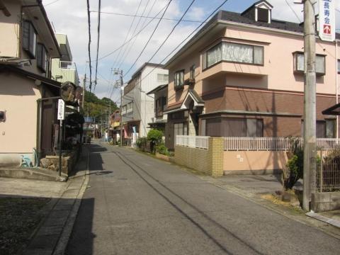 旧東海道 入生田