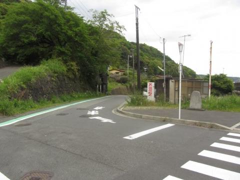 山崎の古戦場碑
