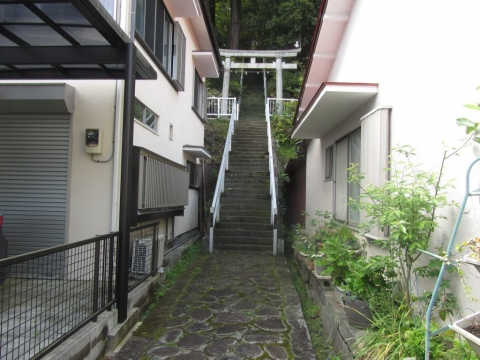 山神神社参道