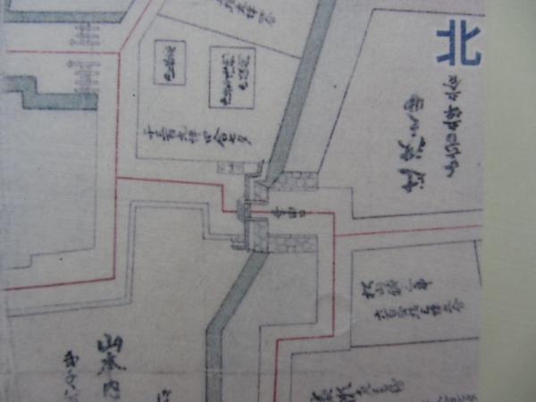小田原城絵図(文久図) 幸田口