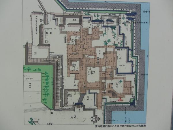 江戸時代前期の二の丸御殿