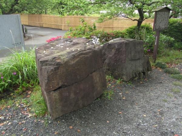 早川石丁場群の切石