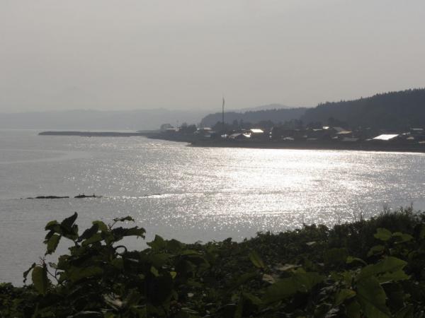 サラキ岬より泉沢