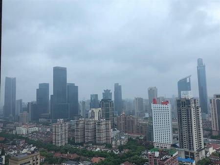 雨の上海 (4)