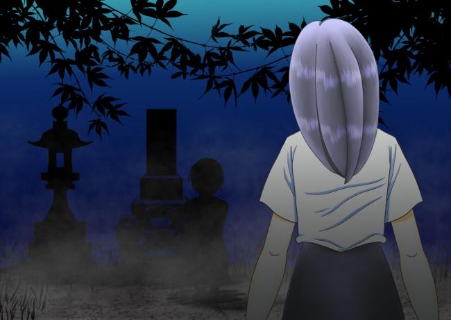 夜の墓場(縮小)