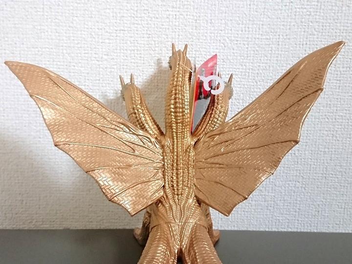 ムービーモンスターシリーズ キングギドラ USJ限定 ゴジラ対エヴァンゲリオン3
