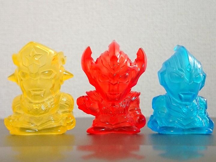 指人形 ウルトラマンタイガ、ウルトラマンタイタス、ウルトラマンフーマ限定
