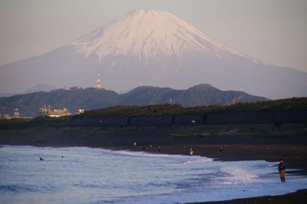 2019/05/10 今日の湘南 茅ヶ崎の富士山