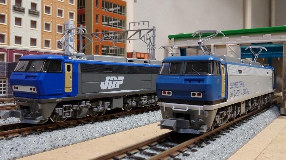 EF200 登場時塗装と新塗装