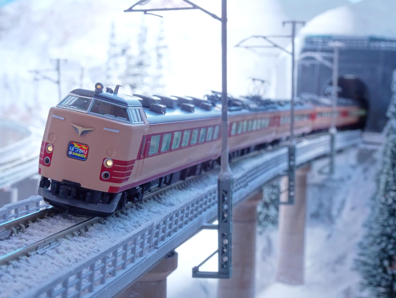 JR485系特急「はつかり」祝 海峡線開業