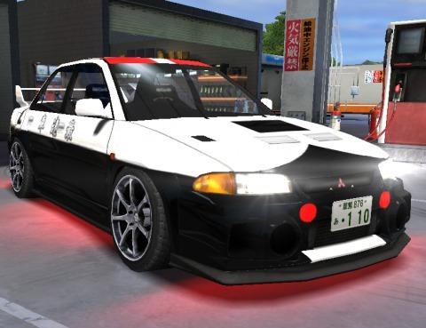 ドリスピ ランエボⅢ パトカー (1)