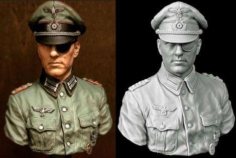 NuTs PLANET_1/10_Bust_Claus von Stauffenberg_TC version