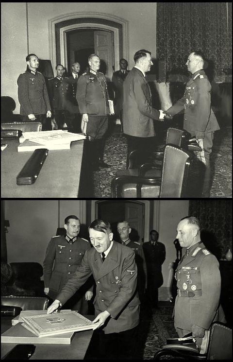 Erwin Rommel_Hitler_30.Sep.1942