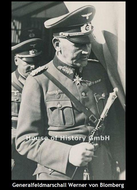 Generalfeldmarschall_Werner von Blomberg_Interimsstab
