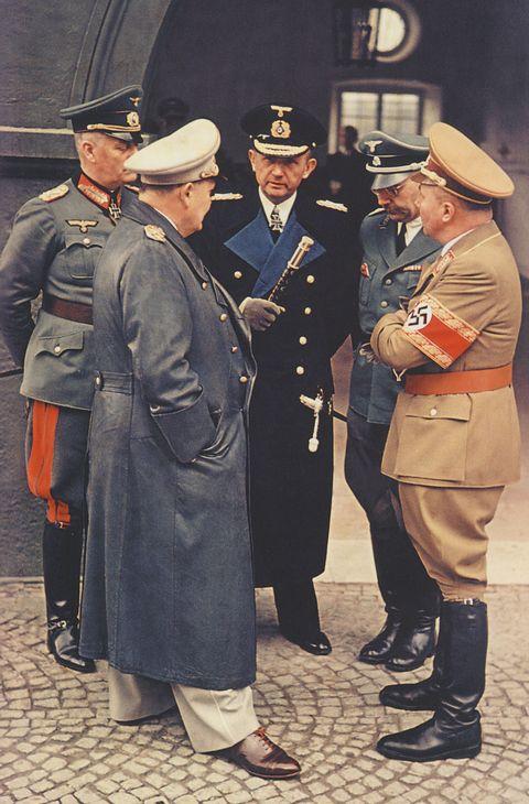 Wilhelm Keitel_Hermann Göring_Karl Dönitz_Heinrich Himmler_Martin Bormann_Berghof