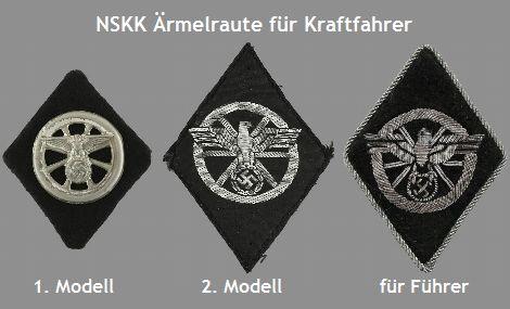 NSKK Ärmelraute für Kraftfahrer