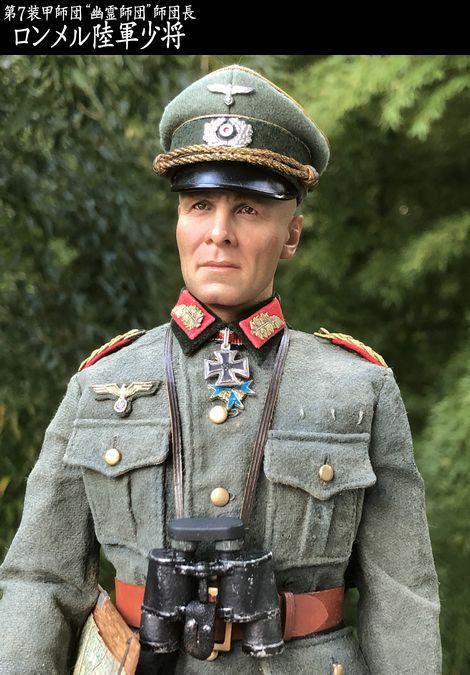 7. Panzerdivision Divisionskommandeure Generalmajor ROMMEL_01