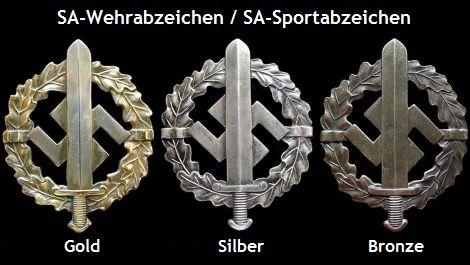 SA-Wehrabzeichen/SA-Sportabzeichen