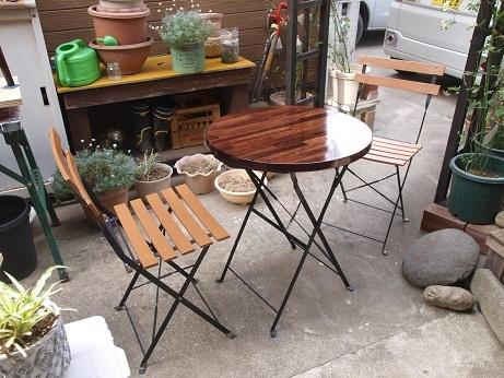 P5090005 ガーデンテーブルセット