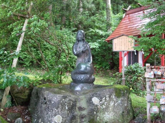 御座石神社辰子姫