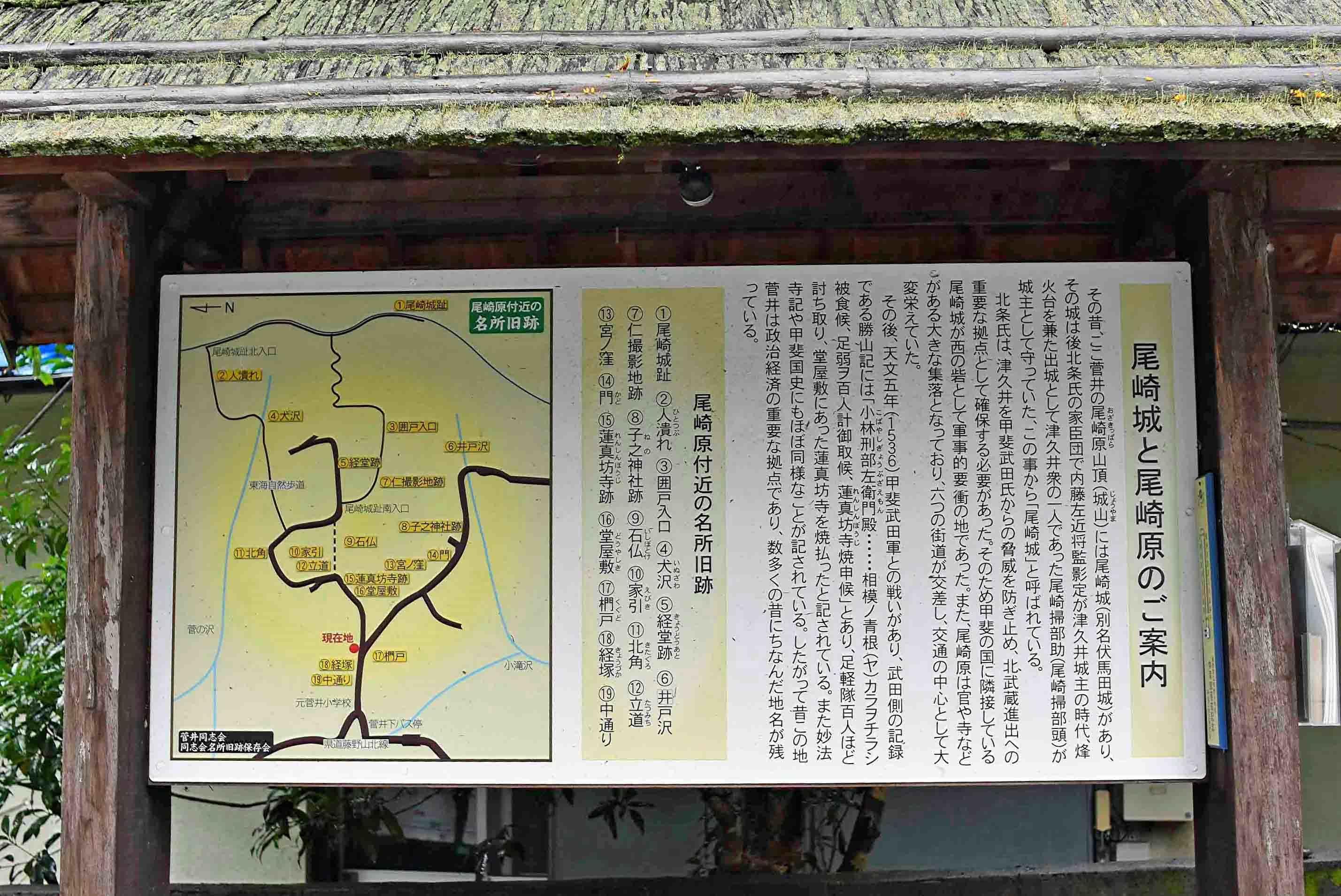 尾崎城と尾崎原について