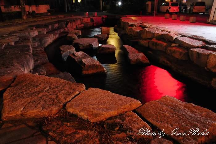 水舞台 アクアトピア水系 愛媛県西条市上神拝