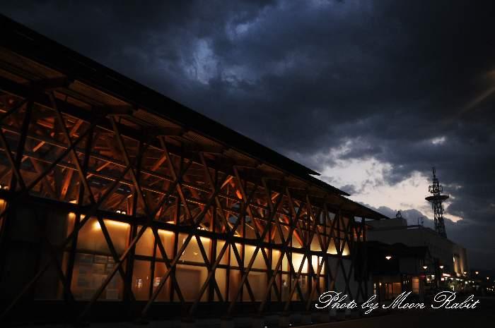 四国鉄道文化館と雲 愛媛県西条市大町798-1