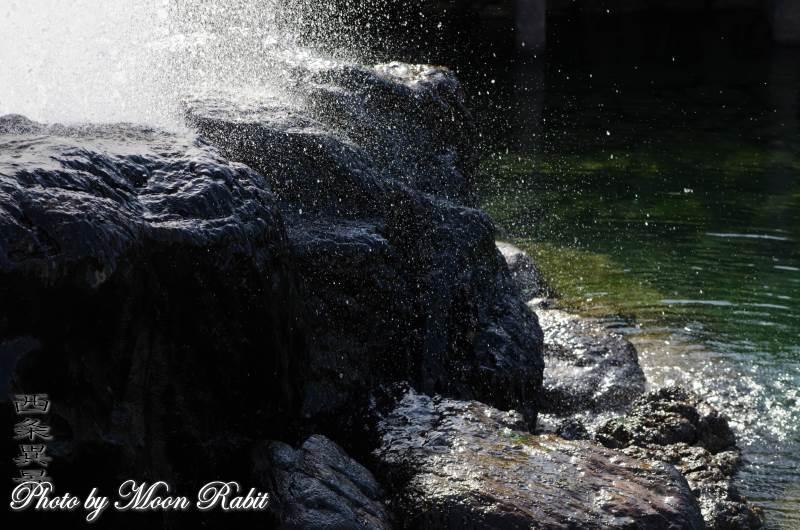 噴水 観音水 愛媛県西条市上神拝