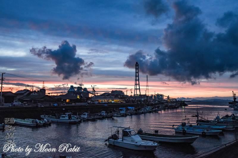 西条漁港 愛媛県西条市北浜北