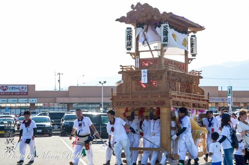 三津屋だんじり(屋台) 鶴岡八幡神社祭礼