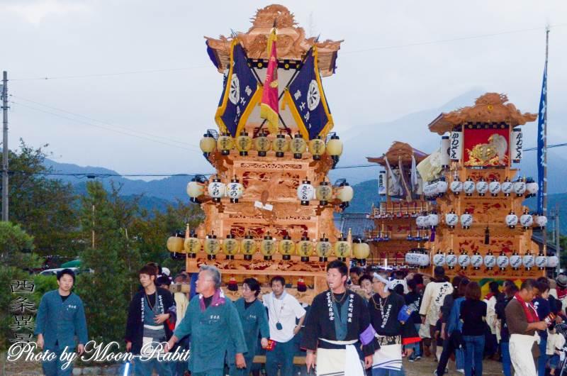 御所神社祭 富士見町だんじり(屋台)