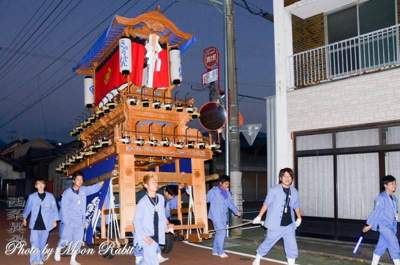 旧藩だんじり(屋台) 常盤祭2018